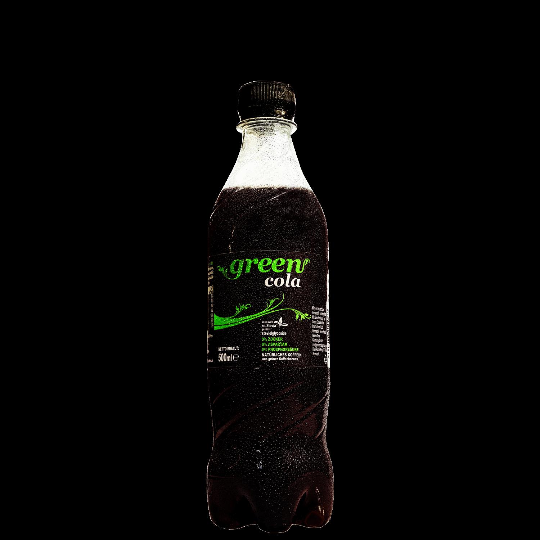 Green Cola - 0,5 l - PET Flasche