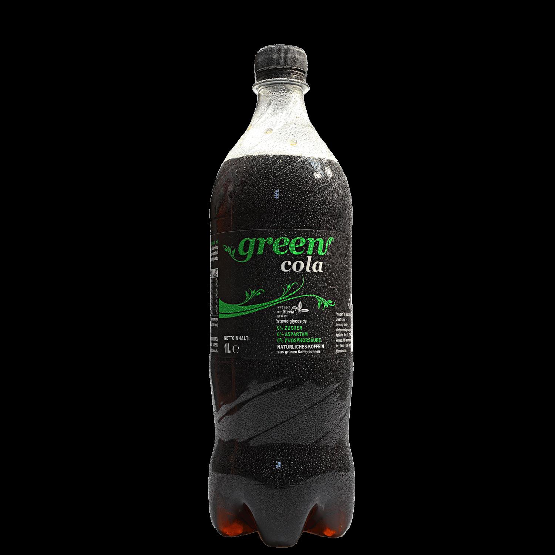 Green Cola - 1 l - PET Flasche