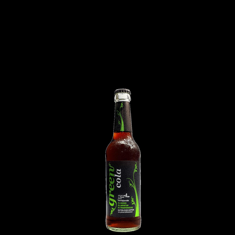 Green Cola - 330ml - Glasflasche