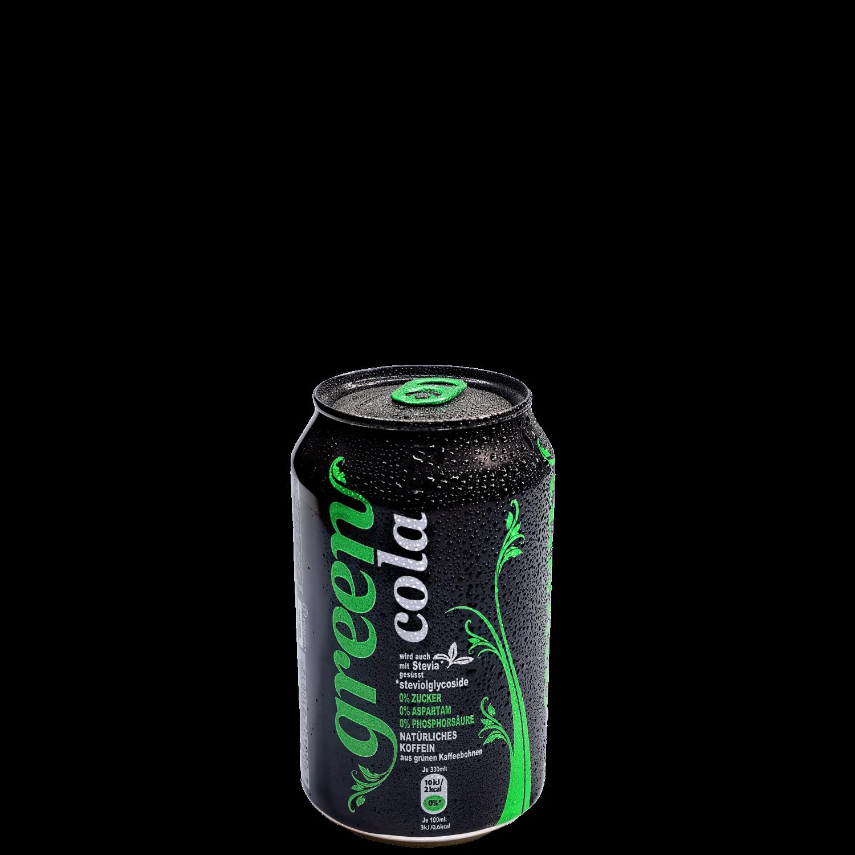 Green Cola - 330ml - Dose
