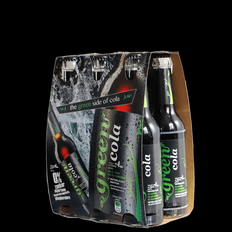 Green Cola - 6 pack - Glasflasche 6x 330ml